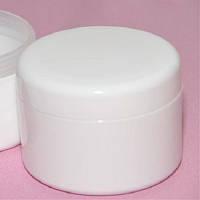 Баночка для крема с крышкой и защитным диском 250 мл