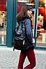 Городской рюкзак с паетками на кармане, фото 9