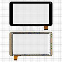 Touchscreen (сенсорный экран) для Assistant AP-712B Fun, оригинал (черный)