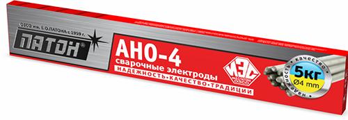 Сварочные электроды ПАТОН АНО-4 4мм 5кг