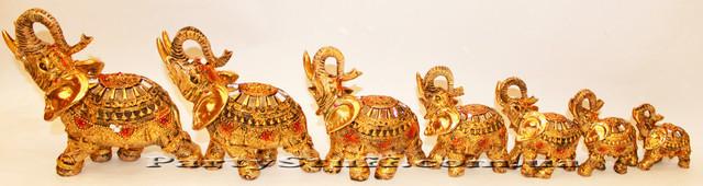 статуэтка семь слонов