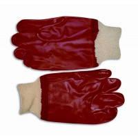 Перчатки резиновые маслостойкие с манжетом, 27 см