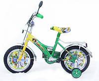"""Детский двухколесный велосипед 14"""" Мадагаскар"""