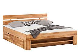 Кровать из массива дерева 013