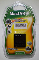 "Аккумулятор к фотокамере тм""MastAK"" CGA-S004 3,7V 710mAh"
