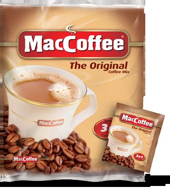 Кофейный напиток MacCoffe original 3в1 25шт - Интернет-магазин Coffeeyka в Виннице