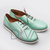 Туфли женские кожаные Арт.5009-AM08mint