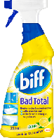 Средство для очистки душевых кабин и ванной с ароматом лимона  Biff Bad Total 750 мл.