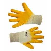 Перчатки с латексным покрытием, б/п