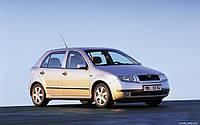 Автомобильные чехлы Skoda Fabia 1999-2007 combi цельная задняя спинка и сидушка