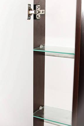 Зеркало с пеналом Z-1 60 Мишель Венге ТМ ЛЕОС правостороннее, фото 2