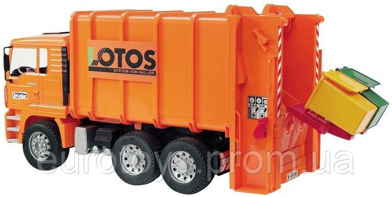 «Чистая игра» с машинкой мусоровозом