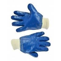 Перчатки резиновые маслостойкие с манжетом,Nitril