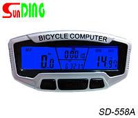 Велокомпьютер SunDing SD-558