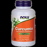 NOW - Curcumine (60 caps) / Куркумин, 665 мг
