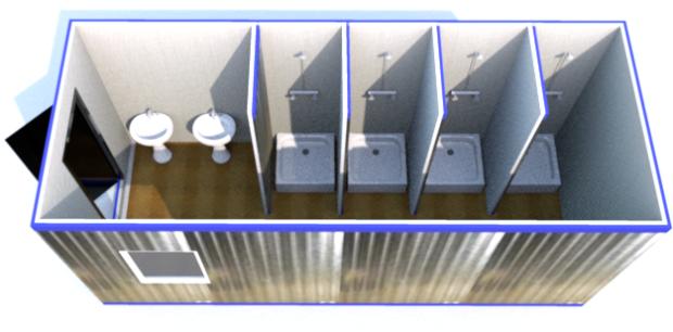Мобильные туалеты из контейнеров, фото 2