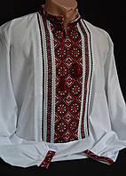 Рубашка мужская с вышивкой, ручная работа (домотканка), 42-56 р-ры, 750\650 (цена за 1 шт. + 100 гр.)