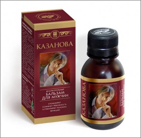 Казанова, бальзам - оказывает стимулирующее влияние на половую функцию, фото 2