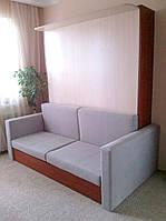 Откидная кровать с диваном в гостинную