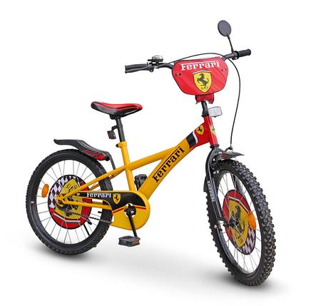 """Велосипед детский рост от 125 см двухколесный Ferrari """"20"""", фото 2"""