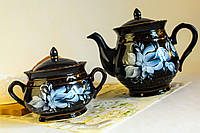 Чайная пара Витязь, гжель
