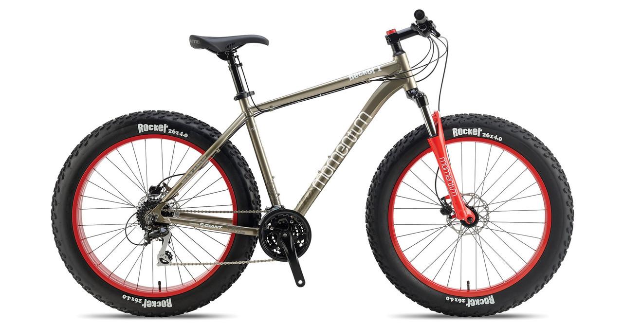 "Горный велосипед fatbike Giant Momentum iRide Rocker 1 титан 26"" (GT)"