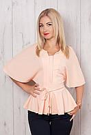Эффектная молодёжная блуза модного фасона