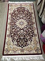Ковер классический Iranian Star, Турция, 0,8х1,5, бордо