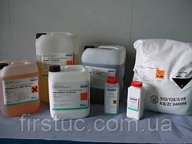Очистители, моющие средства и вспомагательные материалы