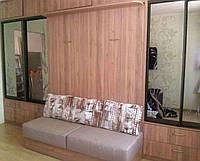 Стенка со шкаф-кроватью и диваном, фото 1