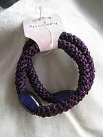 Набор из 2-х резинок для волос с камнями.