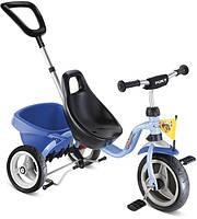 Трехколесный велосипед Puky CAT 1S  голубой