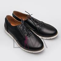 Туфли женские кожаные 5009-AM08black