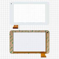 Touchscreen (сенсорный экран) для IconBIT NetTAB THOR mini, оригинал (белый)
