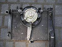 Радиатор охлаждения двигателя с вентилятором Yamaha R6