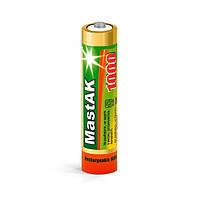 Аккумулятор MastAK Ni-MH AAA/R03 1000mAh