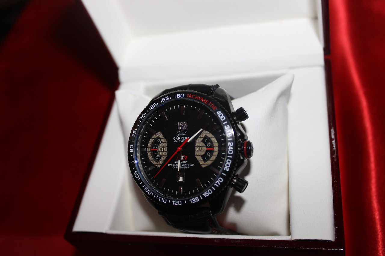 Часы Tag Heuer Grand Carrera механика