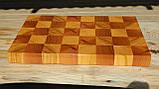 Торцевые- кухонные доски из бука, дуба, ясеня, фото 5
