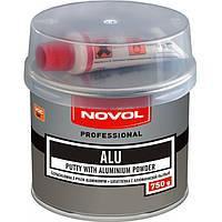 Шпатлёвка с алюминиевой пудрой Novol Alu 0,75кг