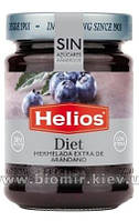 Джем с черники без сахара Helios Diet 280 грамм