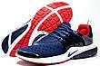 Беговые кроссовки Nike Air Presto, Dark Blue\White\Red, фото 4