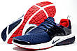 Беговые кроссовки в стиле Nike Air Presto, Dark Blue\White\Red, фото 4