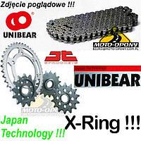 Цепь приводная + звездочки Suzuki GSF Bandit 1200, X-Ring