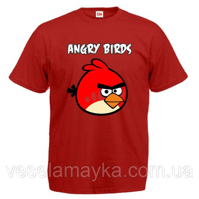 "Футболка ""Angry Birds Red"""