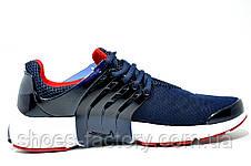 Беговые кроссовки в стиле Nike Air Presto, Dark Blue\White\Red, фото 3
