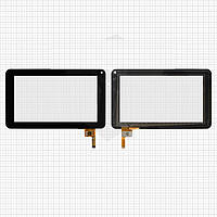 Touchscreen (сенсорный экран) для ViewSonic ViewPad 70D, 12 pin, черный, оригинал