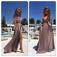 Пляжное женское платье -парео