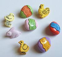 Пуговицы фигурные «Easter_3» Buttons Galore
