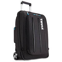 Сумка-рюкзак на колесах Thule Crossover 38L Rolling Carry on black (TCRU115)