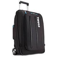 Сумка-рюкзак на колесах Thule Crossover 38L Rolling Carry on black (TCRU115)